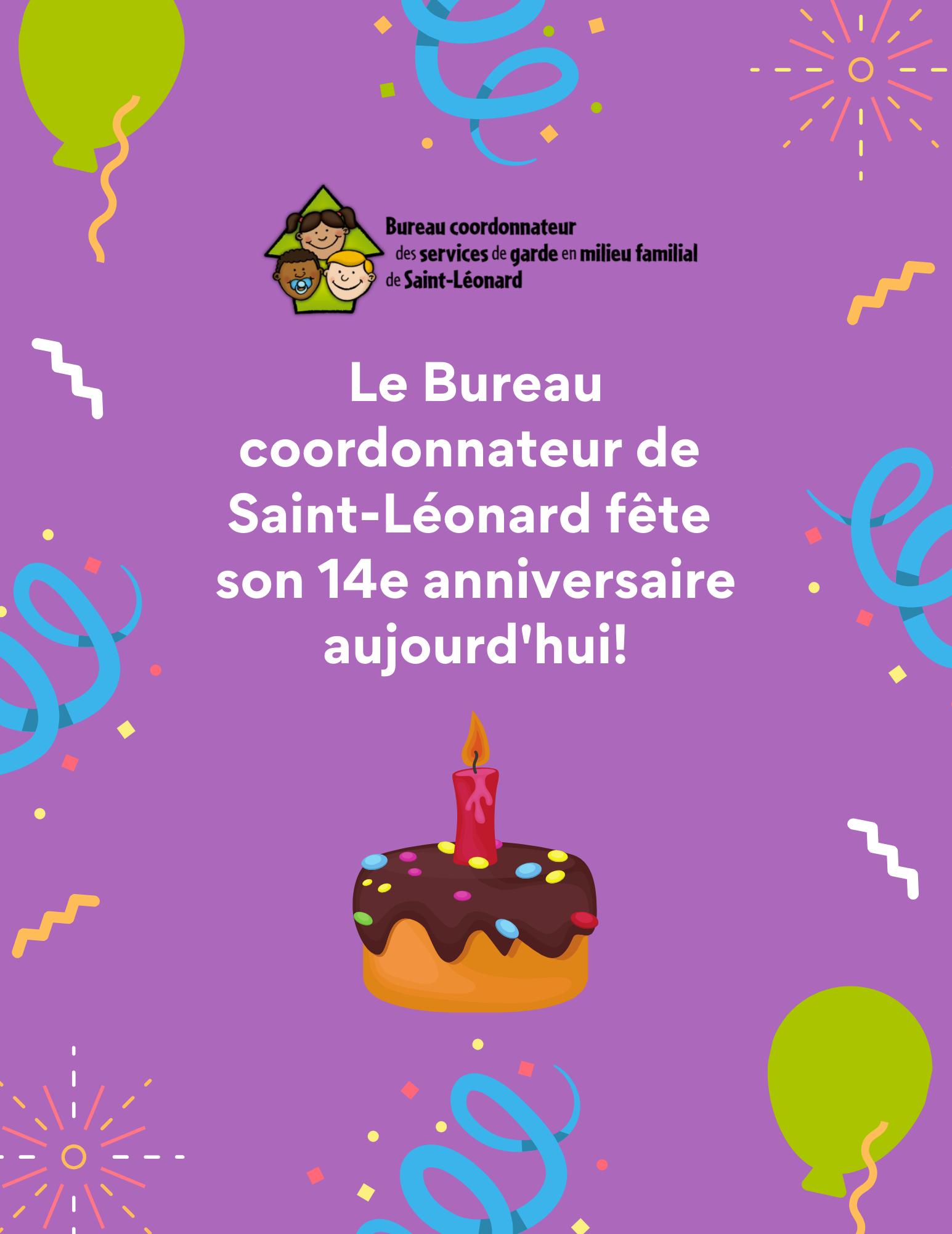 BC 14e anniversaire